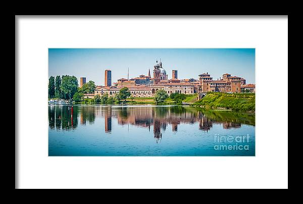 Andreas Hofer Framed Print featuring the photograph Mantua Skyline by JR Photography