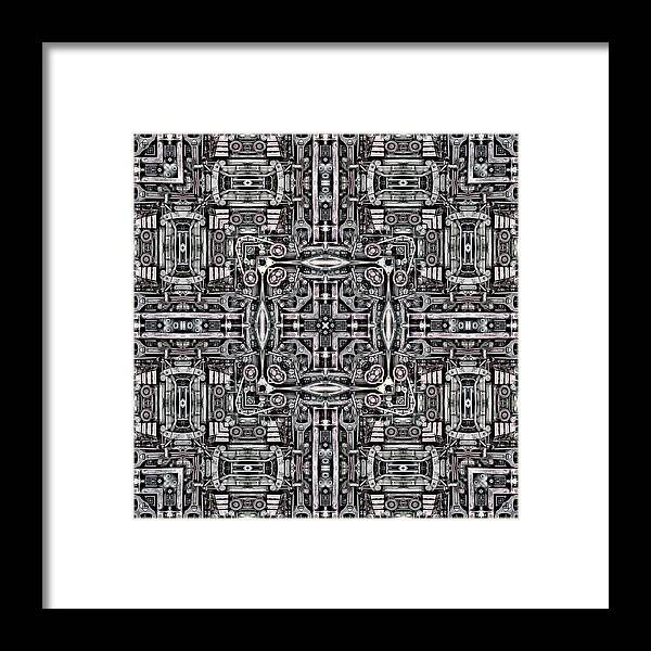 Gear Framed Print featuring the photograph Mechanismadness by Nenad Cerovic