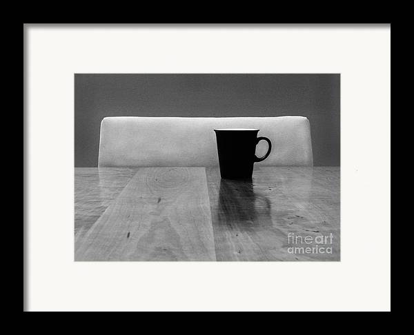 Black Framed Print featuring the photograph Missing by Dana DiPasquale