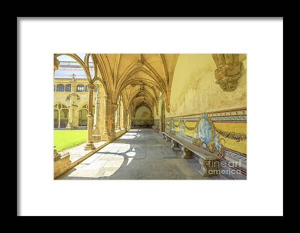 Coimbra Framed Print featuring the photograph Monastery Of Santa Cruz by Benny Marty