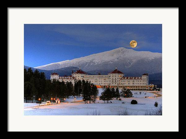 Mount Washington Hotel Framed Art Prints Fine Art America