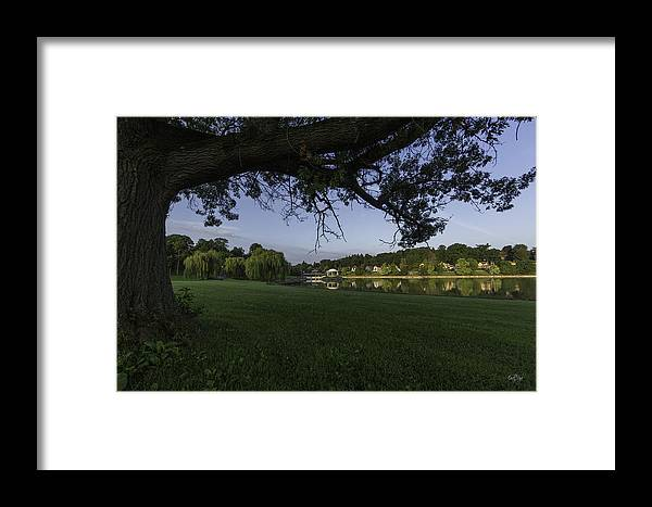 Onondaga Park Framed Print featuring the photograph Morning In The Park by Everet Regal