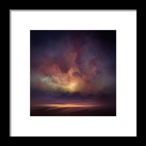 Lc Bailey Framed Print featuring the mixed media Morning Sunrise by Lonnie Christopher