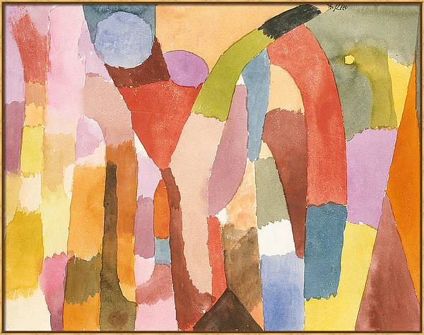 Movement of Vaulted Chambers by Paul Klee