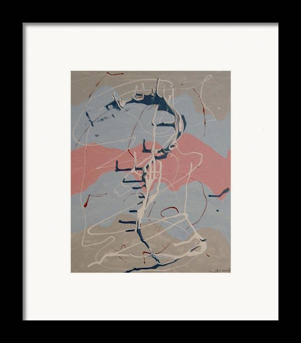 Delicate Colours Framed Print featuring the painting Musical Colours by Harris Gulko