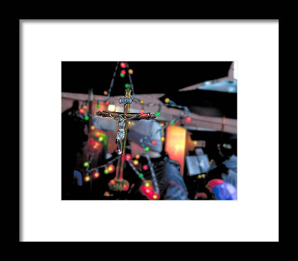 Christmas Framed Print featuring the photograph New York Christmas by Patrick Flynn