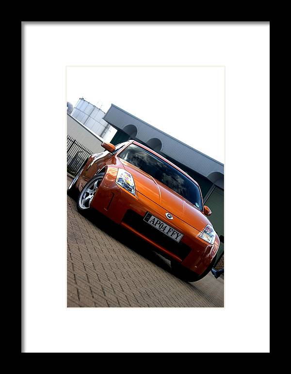 Photographer Framed Print featuring the photograph Nissan 2 by Jez C Self