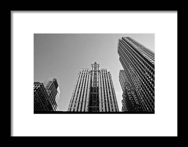 New York City Framed Print featuring the photograph Nyc Buildings by Patrick Flynn