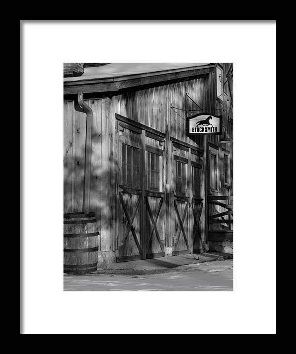 Blacksmith Framed Print featuring the photograph Old Mill by Marty Jordan
