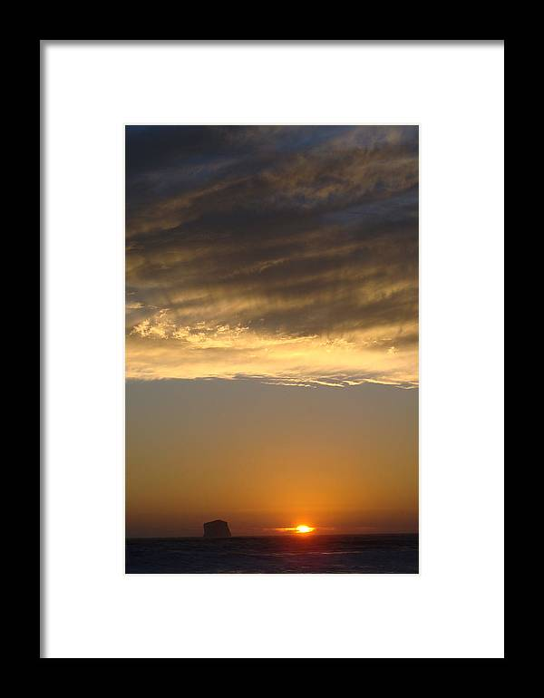 Landscape Framed Print featuring the photograph Olympic Sunset by Ty Nichols