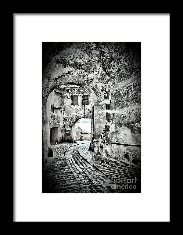 Passage Framed Print featuring the photograph Passage by Gabriela Insuratelu