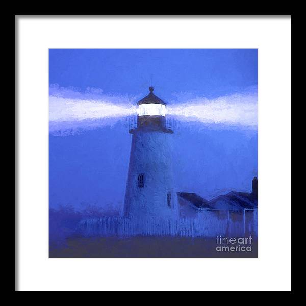 Lighthouses Framed Print featuring the photograph Pemaquid Lighthouse by George Robinson