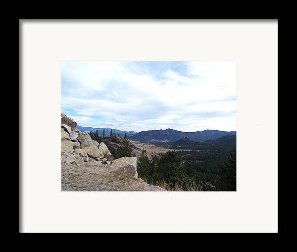 Landscape Framed Print featuring the photograph Pike by Lisa Gabrius