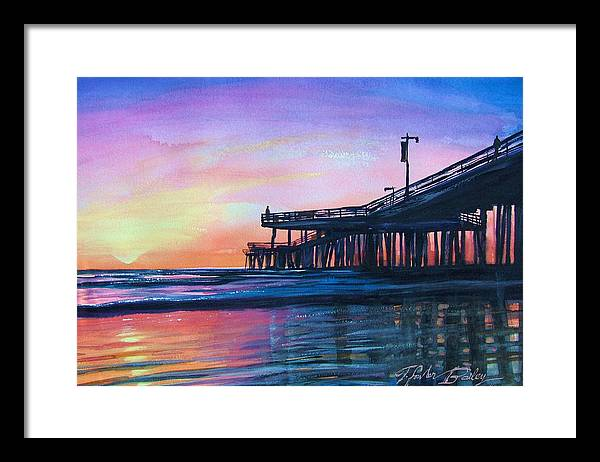Pismo Beach Framed Art Prints Pixels