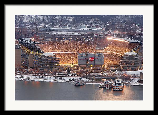 Steelers Framed Print featuring the photograph Pittsburgh 4 by Emmanuel Panagiotakis
