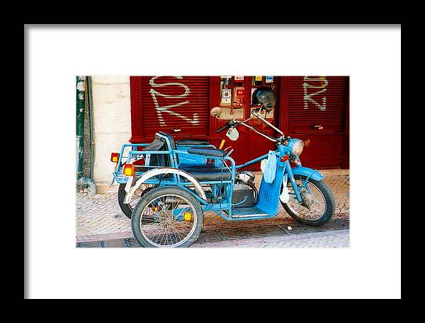 Portugal Framed Print featuring the photograph Portuguese Wheels by Andrea Simon
