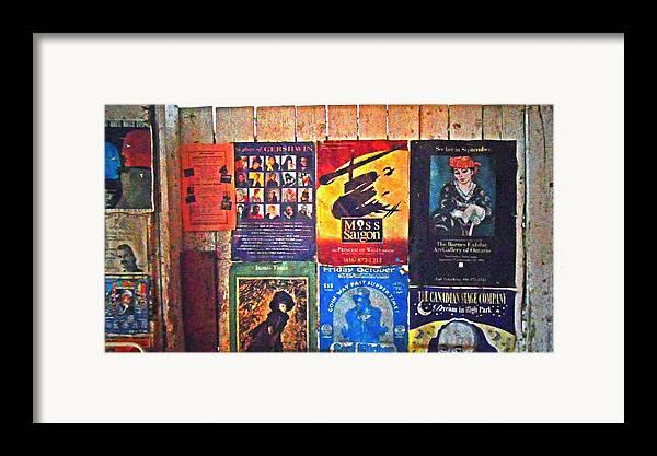 Gershwin Framed Print featuring the pyrography Poster Board by Cyryn Fyrcyd