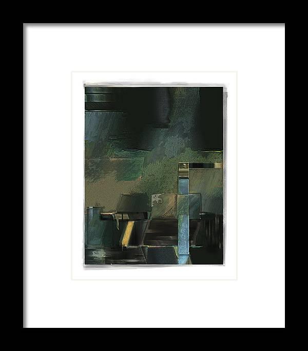 Still Life Framed Print featuring the digital art Pump by Nuff