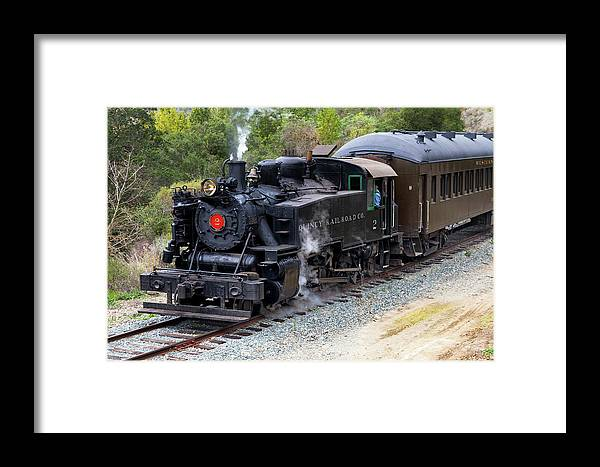 Railroad Framed Print featuring the photograph Quincy Railroad No. 2 by Rick Pisio