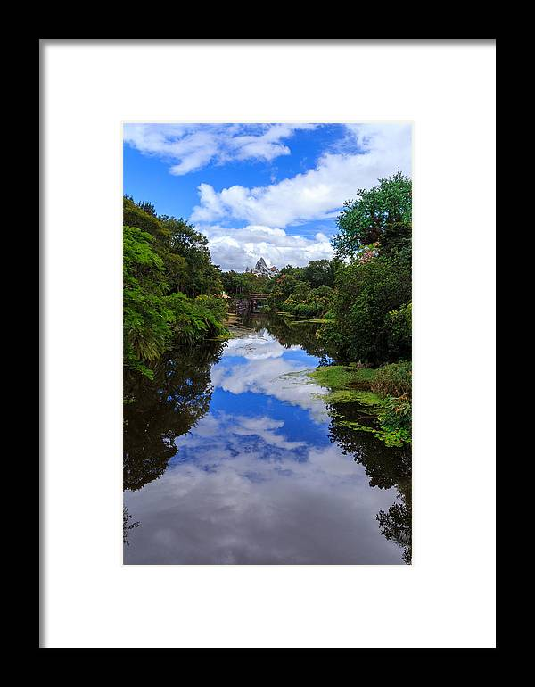 Reflection Framed Print featuring the photograph Reflected View 2 by Charles A LaMatto