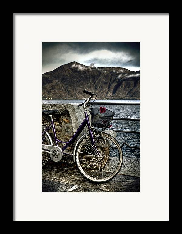 Bicycle Framed Print featuring the photograph Retro Bike by Joana Kruse