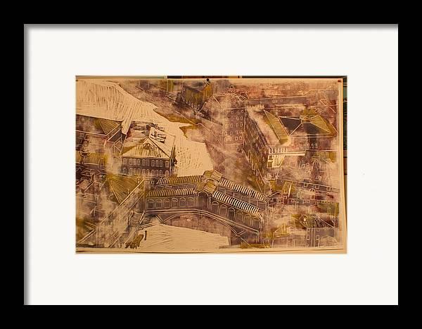 Framed Print featuring the print Rialto Bridge by Biagio Civale