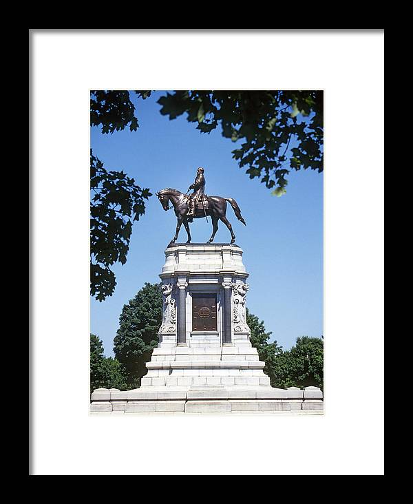 Confederate Framed Print featuring the photograph Robert E. Lee by Buddy Mays