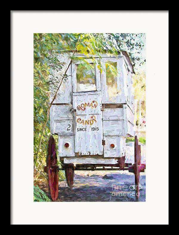 New Orleans Framed Print featuring the photograph Roman Candy by Scott Pellegrin