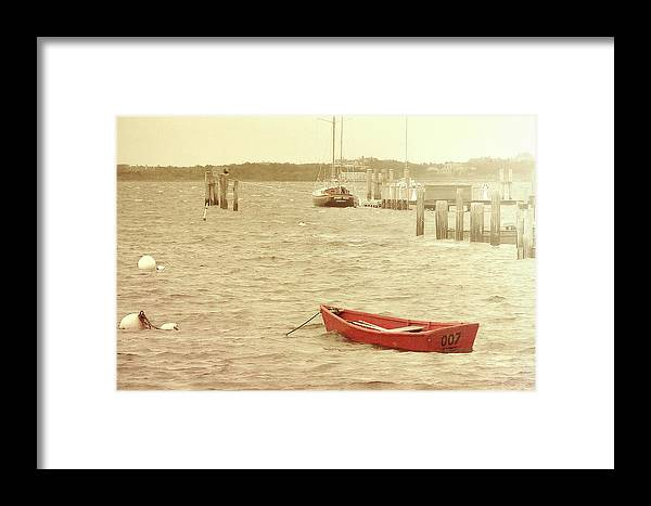 Nantucket Framed Print featuring the photograph Rough Seas by JAMART Photography