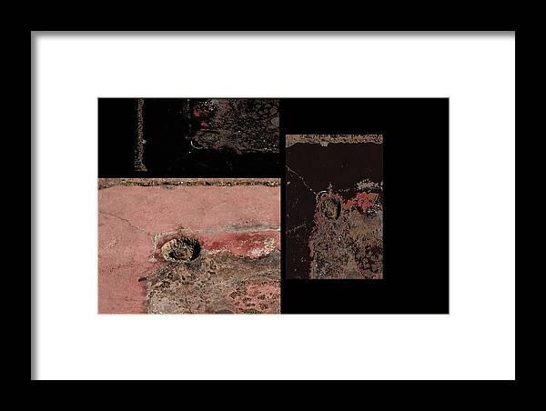 Artwork Framed Print featuring the photograph Rusty by Radulescu Adriana Lucia