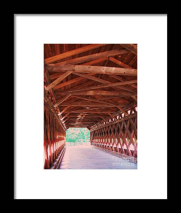 Gettysburg Framed Print featuring the painting Sachs Bridge by Eric Schiabor