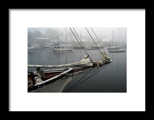 Boats Framed Print featuring the photograph Sailing On Hold by Neil Doren