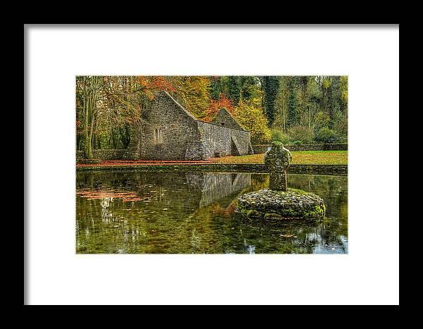Saint Framed Print featuring the photograph Saint Patrick's Well by Joe Ormonde