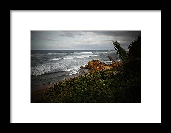 Framed Print featuring the photograph sea by Borko Turudic