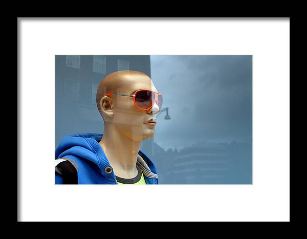 Photographer Framed Print featuring the photograph Sean 2 by Jez C Self