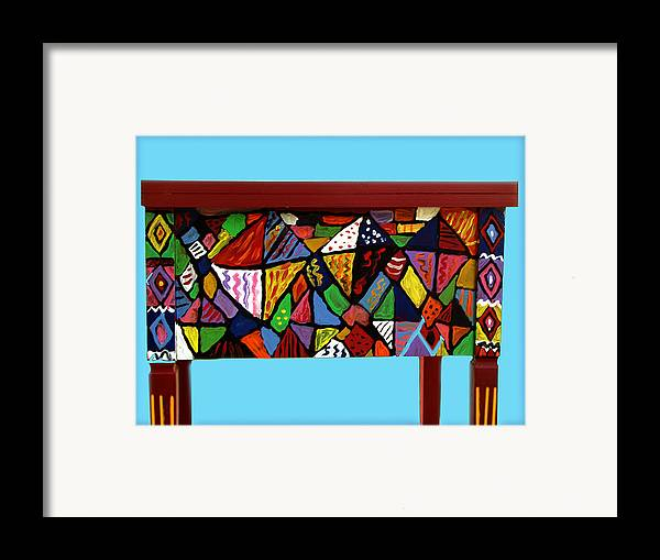 Sewing Machine Framed Print featuring the mixed media Sewing Machine by Betty Roberts