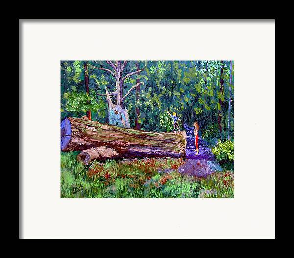 Landscape Framed Print featuring the painting Sewp 6 21 by Stan Hamilton
