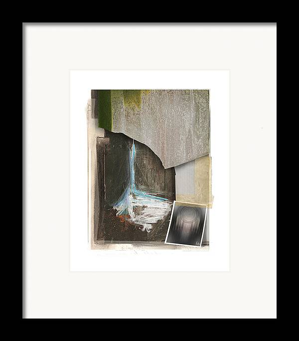 Drawing Framed Print featuring the digital art Shipped by Nuff