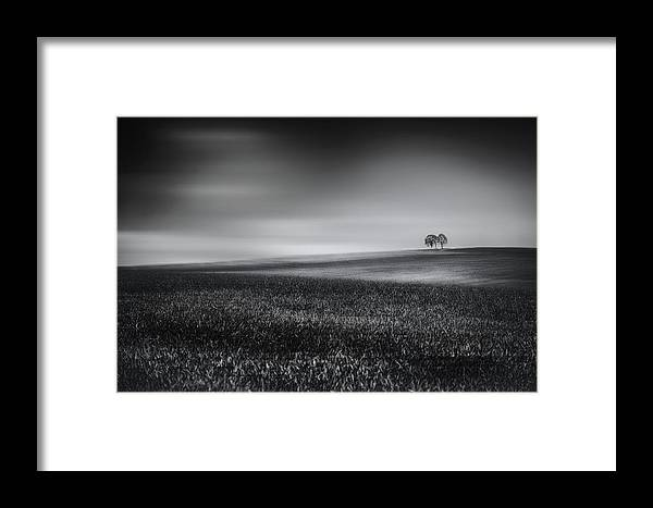 Oberleiterbach Framed Print featuring the photograph Silence - Fine Art Landscape Photography by Frank Andree
