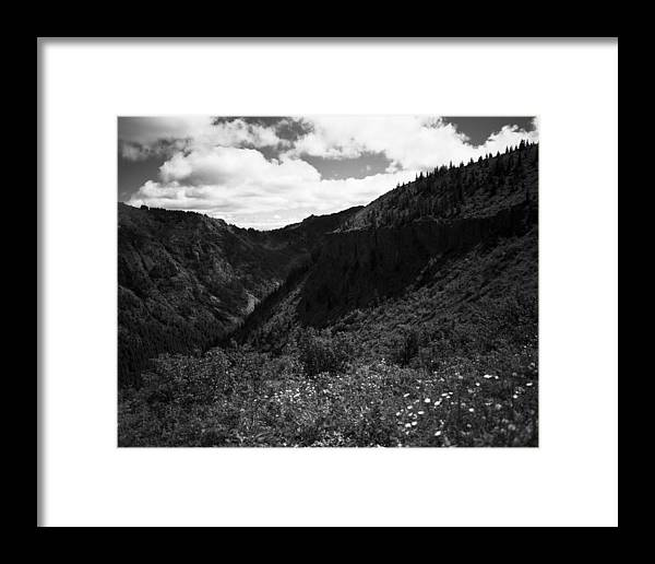 Nature Framed Print featuring the photograph Silver Star Mountain by Benjamin Garvey