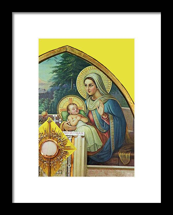 Holy Land Painting Framed Print featuring the photograph Sleeping by Munir Alawi