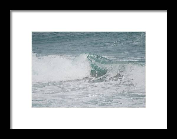 White Framed Print featuring the photograph Splash by Rob Hans