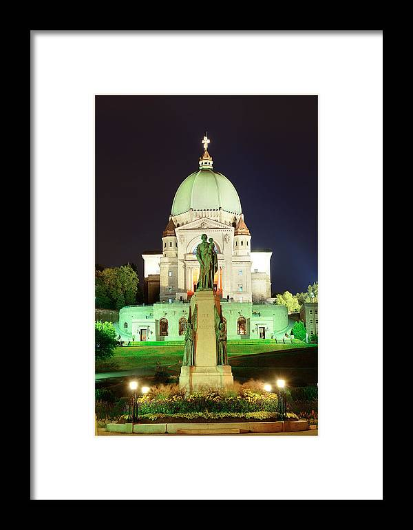 Montreal Framed Print featuring the photograph St. Joseph's Oratory by Songquan Deng