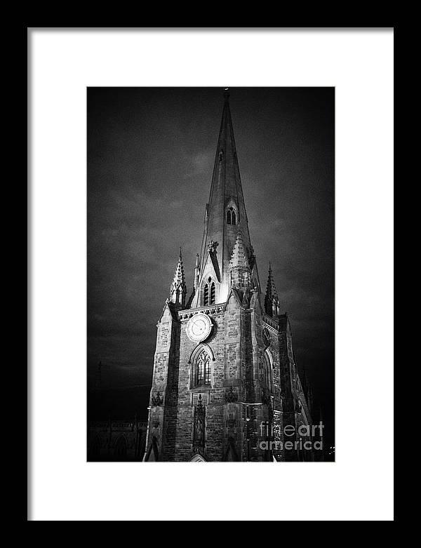 Birmingham Framed Print featuring the photograph St Martin Church In The Bullring Birmingham England Uk by Joe Fox