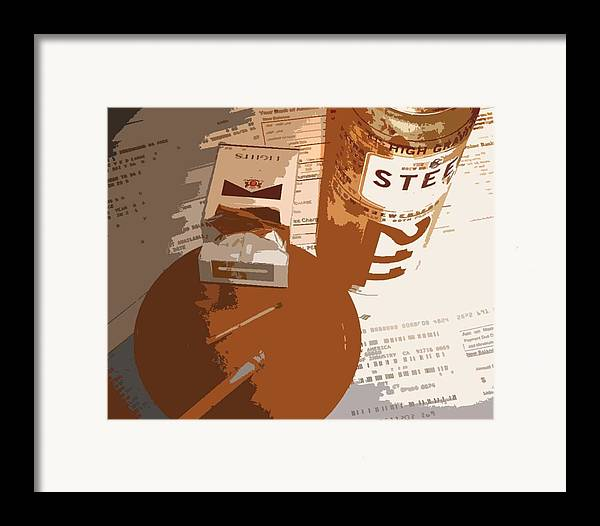 Credit Framed Print featuring the photograph Steel Reserve by Jennifer Ott