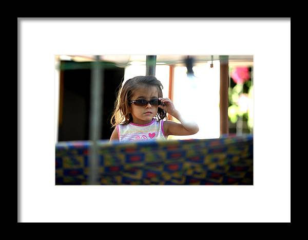 Photographer Framed Print featuring the photograph Still See You by Jez C Self