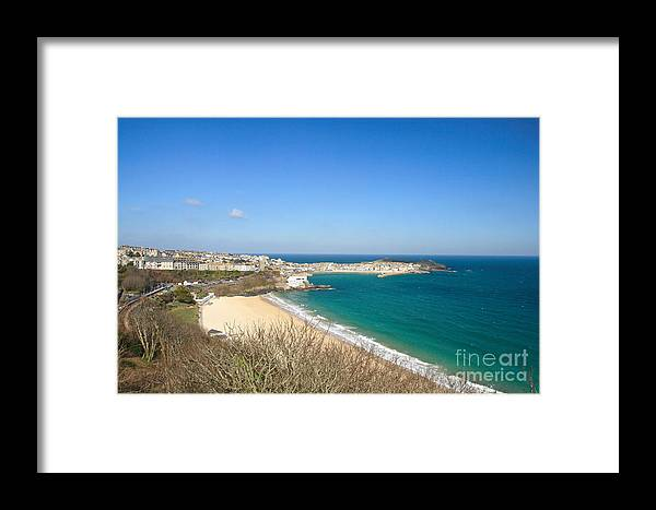 St Ives Framed Print featuring the photograph St.ives by Carl Whitfield