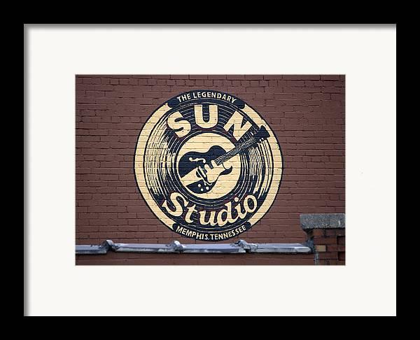 Sun Studio Framed Print featuring the photograph Sun Studio Memphis Tennessee by Wayne Higgs