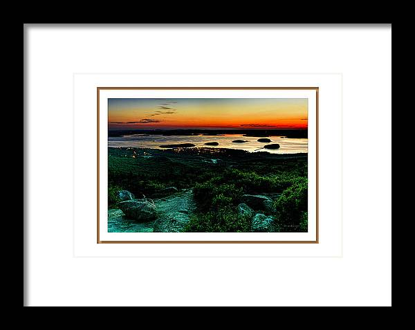 04-landscape Framed Print featuring the photograph Sunrise by Myer Bornstein