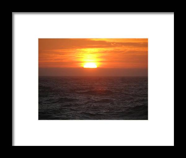Framed Print featuring the photograph Sunset.. by Kavita Sarawgi